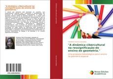 """Capa do livro de """"A dinâmica cibercultural na ressignificação do ensino de geometria."""""""