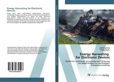 Bookcover of Energy Harvesting for Electronic Devices