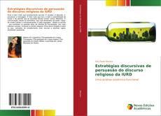 Capa do livro de Estratégias discursivas de persuasão do discurso religioso da IURD