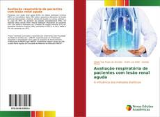 Portada del libro de Avaliação respiratória de pacientes com lesão renal aguda