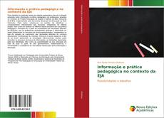 Capa do livro de Informação e prática pedagógica no contexto da EJA