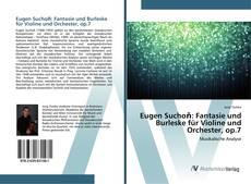 Couverture de Eugen Suchoň: Fantasie und Burleske für Violine und Orchester, op.7
