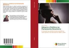 Capa do livro de Gênero e Política no Parlamento Brasileiro