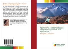 Capa do livro de Rochas metacarbonatíticas do complexo Angico dos Dias - Bahia/Piauí