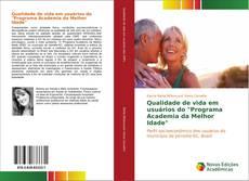 """Capa do livro de Qualidade de vida em usuários do """"Programa Academia da Melhor Idade"""""""