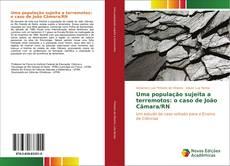 Capa do livro de Uma população sujeita a terremotos: o caso de João Câmara/RN