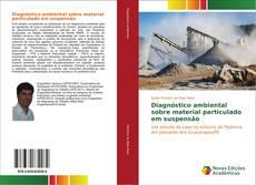 Capa do livro de Diagnóstico ambiental sobre material particulado em suspensão