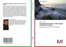 Portada del libro de Giuseppe Ungaretti - Alle origini di Vita d'un uomo