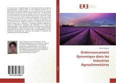Portada del libro de Ordonnancement Dynamique dans les Industries Agroalimentaires