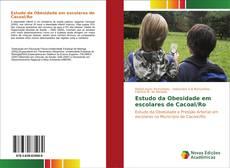 Capa do livro de Estudo da Obesidade em escolares de Cacoal/Ro