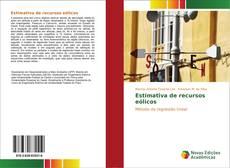 Borítókép a  Estimativa de recursos eólicos - hoz