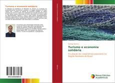Capa do livro de Turismo e economia solidária