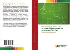 Buchcover von O uso de problemas no ensino de funções