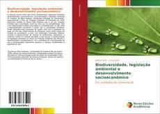Capa do livro de Biodiversidade, legislação ambiental e desenvolvimento socioeconômico