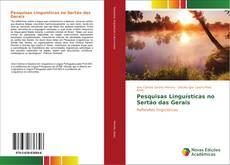 Обложка Pesquisas Linguísticas no Sertão das Gerais