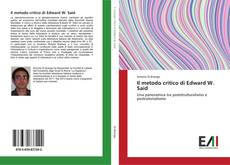 Bookcover of Il metodo critico di Edward W. Said