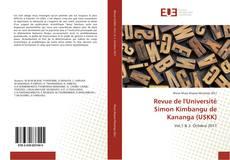 Couverture de Revue de l'Université Simon Kimbangu de Kananga (USKK)