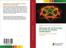 Обложка Aplicação de um livro-jogo no ensino de análise combinatória