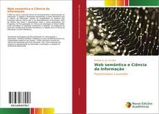 Capa do livro de Web semântica e Ciência da Informação