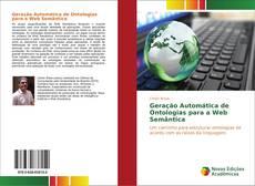 Capa do livro de Geração Automática de Ontologias para a Web Semântica