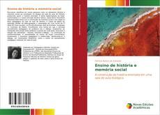 Ensino de história e memória social kitap kapağı