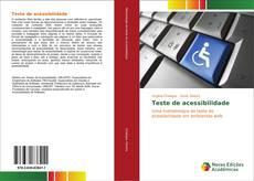 Capa do livro de Teste de acessibilidade