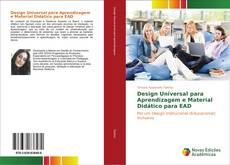 Design Universal para Aprendizagem e Material Didático para EAD的封面
