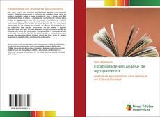 Capa do livro de Estabilidade em análise de agrupamento