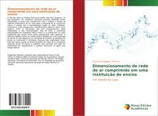 Capa do livro de Dimensionamento de rede de ar comprimido em uma instituição de ensino