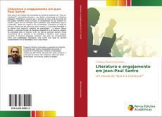 Portada del libro de Literatura e engajamento em Jean-Paul Sartre