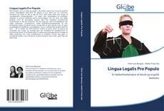 Обложка Lingua Legalis Pro Populo