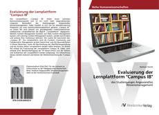 """Couverture de Evaluierung der Lernplattform """"Campus IB"""""""