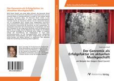 Bookcover of Der Genremix als Erfolgsfaktor im aktuellen Musikgeschäft