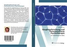 Säuglingsforschung und Personzentrierte Psychotherapie kitap kapağı