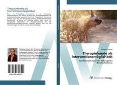 Обложка Therapiehunde als Interventionsmöglichkeit