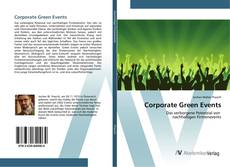 Bookcover of Corporate Green Events
