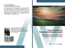 Borítókép a  Traumabedingte Persönlichkeitsstörungen - hoz