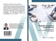 Buchcover von Projekte verändern Unternehmen