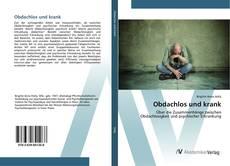 Buchcover von Obdachlos und krank