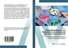 Buchcover von Therapieoptionen zur Reduktion von Advanced glycation end products