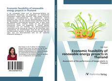Buchcover von Economic feasibility of renewable energy projects in Thailand