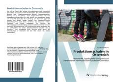 Buchcover von Produktionsschulen in Österreich