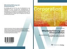 Buchcover von Mitarbeiterführung von Ehrenamtlichen