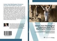 Bookcover of Jemen: Vom Washington Consensus zum Post-Washington Consensus