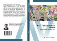 Buchcover von Einkaufszentren in der Schweiz