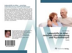 Buchcover von Lebenshilfe im Alter - zwischen Lebensberatung und Psychotherapie