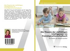 Bookcover of Die Theorie der vielfältigen Intelligenzen im Fremdsprachenschulbuch