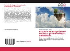 Capa do livro de Estudio de diagnóstico sobre la problemática ambiental