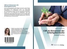 Bookcover of CSR als Dimension der Arbeitgebermarke