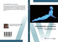 Capa do livro de Kontraktilität von Faszien